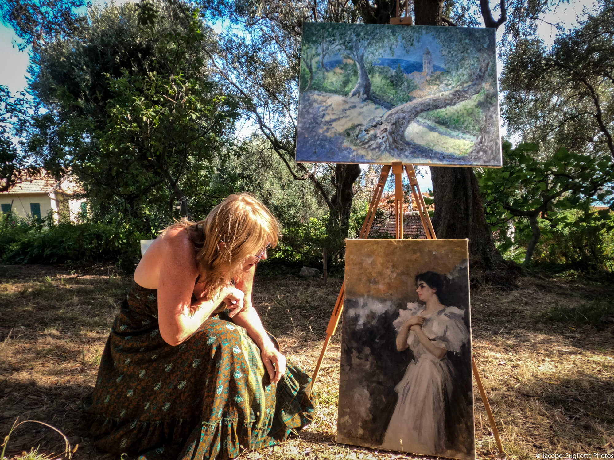 Una mostra sui passi di Monet